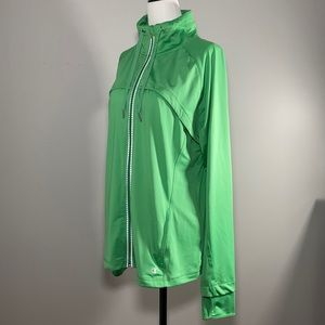 Champion Activewear Green Jacket With Pockets